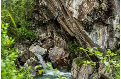 Climbing in Zillertal, Austrai - Copyright: Jensen Walker