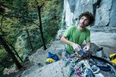 Racking up in Cadarese - Copyright: Riky Felderer