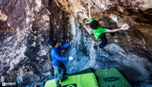 Hueco Tanks, USA - copyright: Hannes Mair