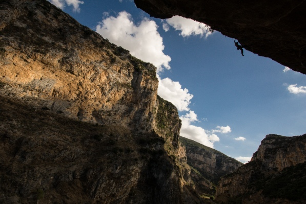 A nice 8c in Kleisoura