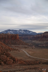 Canyonlands road
