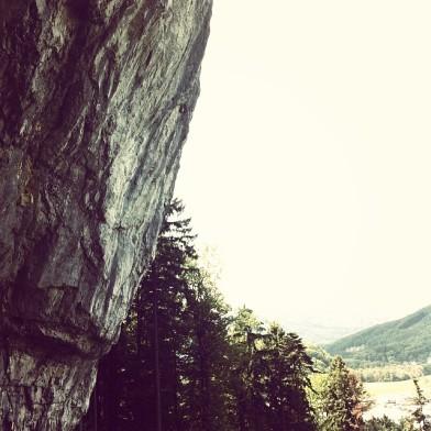 Quiet crag in Voralberg