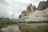 Incredibile! We could see the Tre Cime! - Credits: Riky Felderer