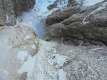 Dlacion de Frea, WI6/M6, Dolomites