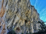Who says that Verdon is just about slab climbing
